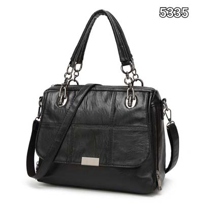 5335 Punky Pu leather Slingbag (Black)