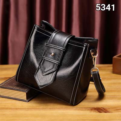5341 Simple Elegant Handbag (Black)
