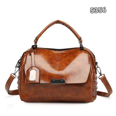 5356 Fashion Punky PU Slingbag (Brown)