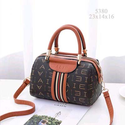 5380 Cute Boston Slingbag (Brown)
