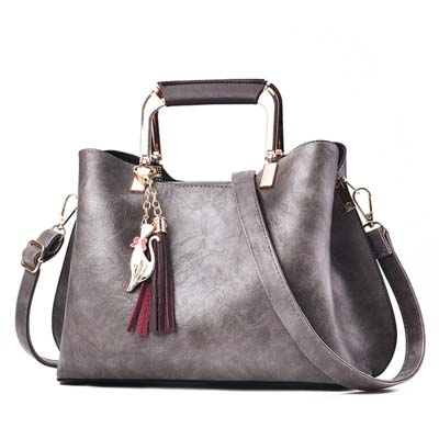 5406 Fashion Handbag (Grey)