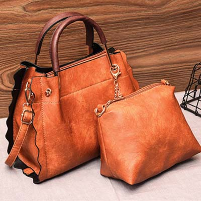 5409 Fashion 2 in 1 Bag (Brown)