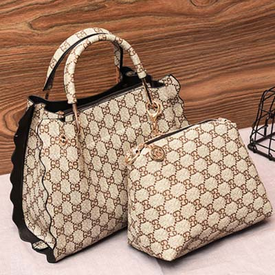 5409 Fashion 2 in 1 Bag (Khaki)