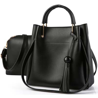 5411 Fashion 2 in 1 Bag (Black)