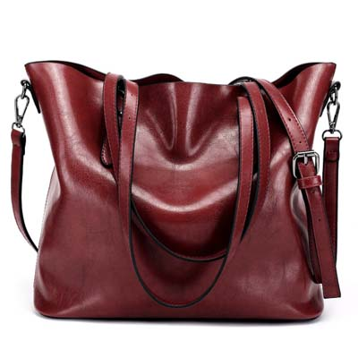 5413 Fashion Shoulder Bag (Maroon)