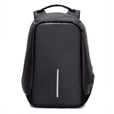 5424 Anti-Theft Backpack with Charger (Black)