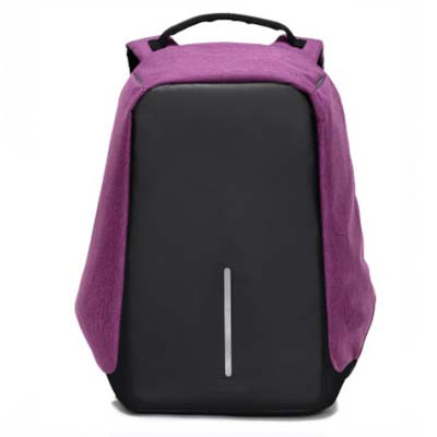 5424 Anti-Theft Backpack with Charger (Purple)