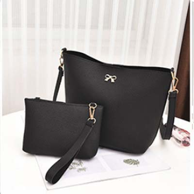 5429 Simple 2 in 1 Slingbag (Black)