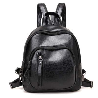 5440 Single/Double strap Backpack (Black)