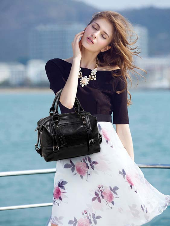 5463 Fashion Handbag (Black)