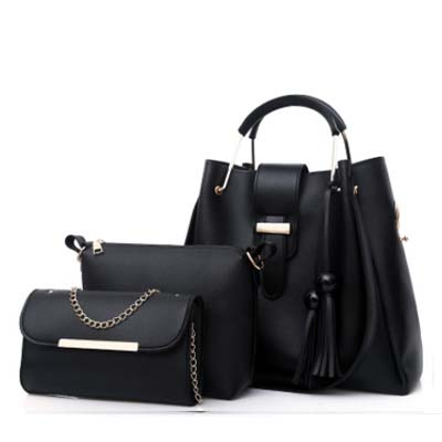 5469 Hot demand 3 in 1 Handbag (Black)
