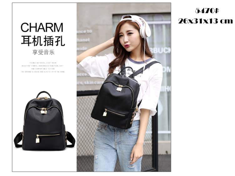 5470 Simple Elegant Backpack (A)