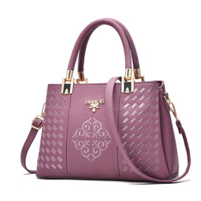 5503 Multilayer Elegant Handbag (Purple)
