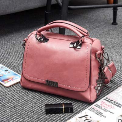 5506 Popular Punky Fashion Slingbag (Pink)