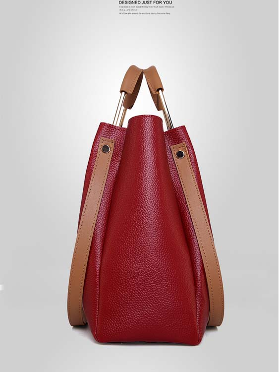 5527 Fashion 4 in 1 Handbag (Maroon)