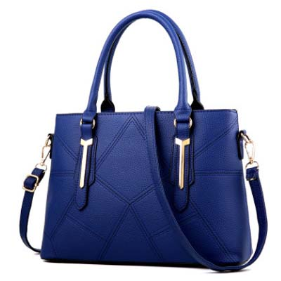 5582 Simple Puzzle Handbag (Blue)