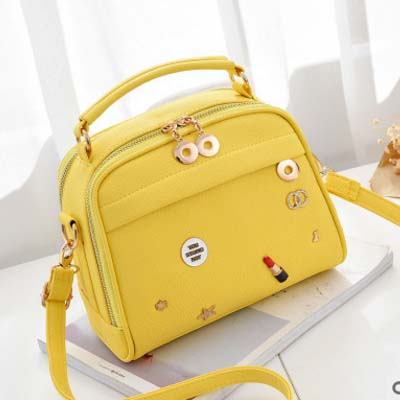 5588 Fashion Cute Slingbag (Yellow)