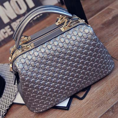 5735 Fashion Handbag (Silver)