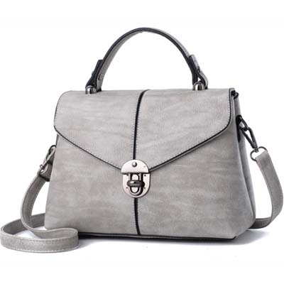 5880 Fashion Handbag (Light Grey)