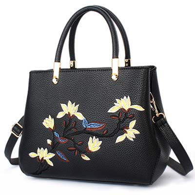 5937 Elegant Handbag (Black)