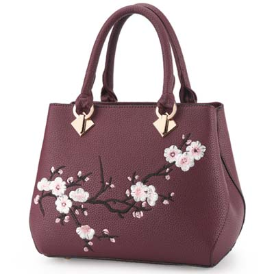 5937 Elegant Handbag (Purple)