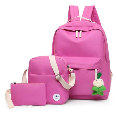 5983 Fashion 3 in 1 backpack (Rose)