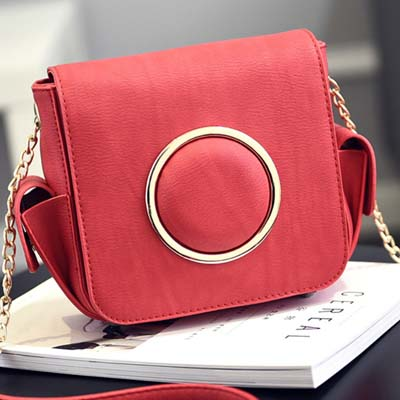 6028 Simple Sling Bag (Red)