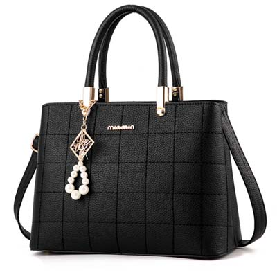 6041 Elegant Handbag (Black)