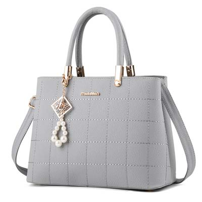 6041 Elegant Handbag (Grey)