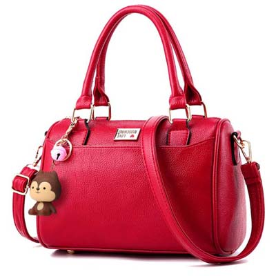 6079 Fashion Handbag (Maroon)