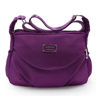 6085 Elegant Waterproof Sling Bag (Purple)