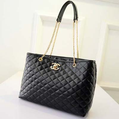6109 Famous Designer Inspired Handbag (Black)