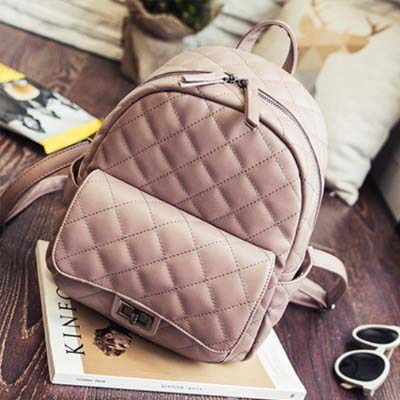 6135 Elegant Lingge Backpack (Pink)