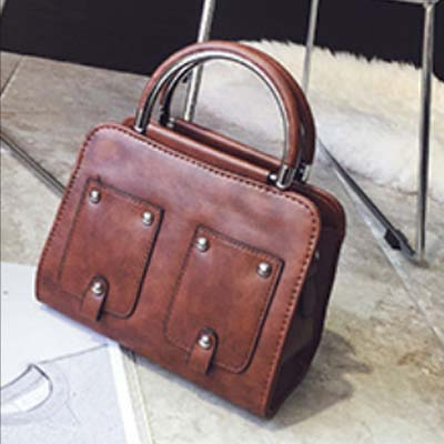 6139 Elegant Handbag (Coffee)