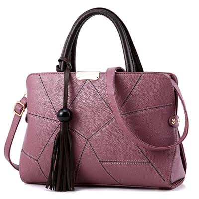 6147 Sweet Fashion Handbag (Purple)