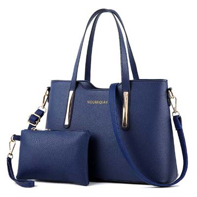 6148 Elegant 2 in 1 handbag (Blue)