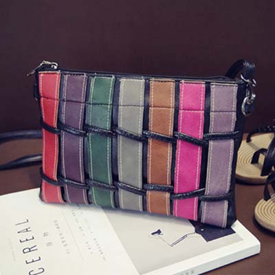 6165 Fashion Colorful Sling Bag