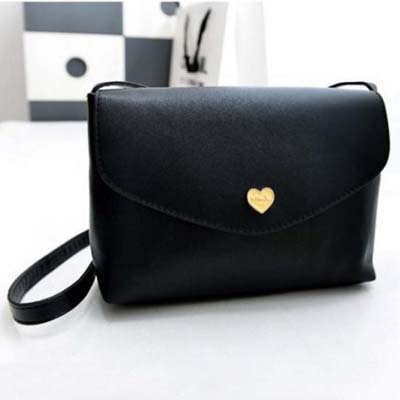 6177 Simple Sling Bag (Black)