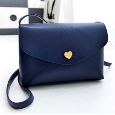 6177 Simple Sling Bag (Blue)