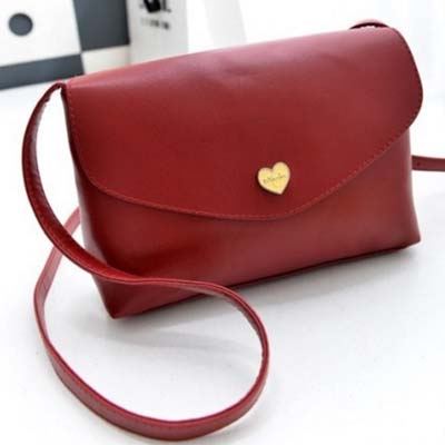 6177 Simple Sling Bag (Maroon)