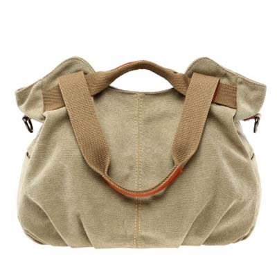 6178 Fashion Canvas Bag (Khaki)