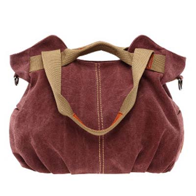 6178 Fashion Canvas Bag (Purple)