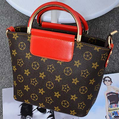 6180 Elegant Handbag (Red)