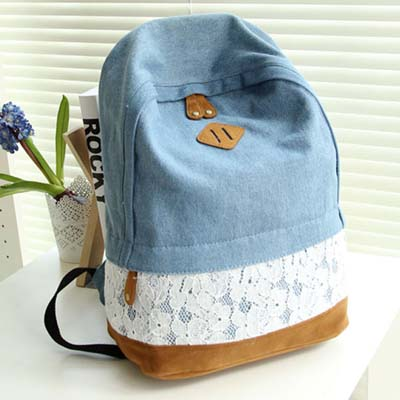 6195 Fashion Backpack (Dark Blue)