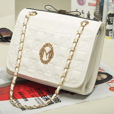 6200 Elegant Sling Bag (White)