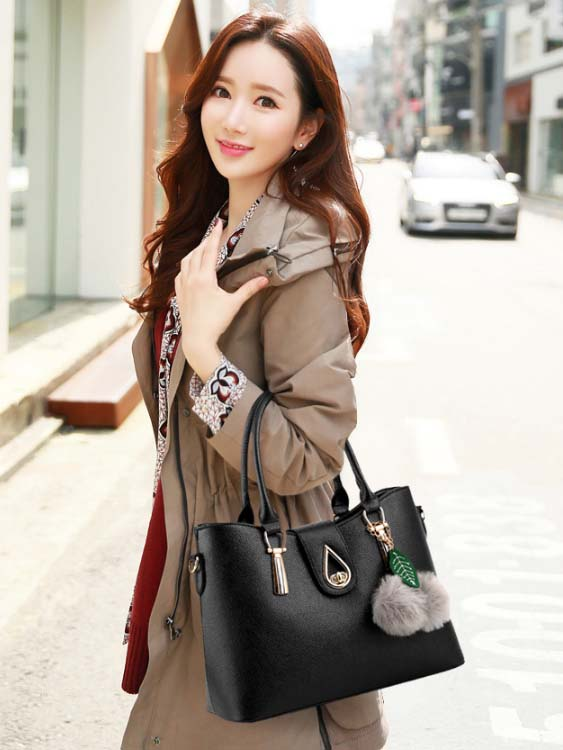 6210 Elegant 3 in 1 Bag (Black)