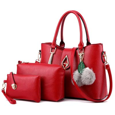 6210 Elegant 3 in 1 Bag (Maroon)