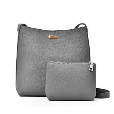 6243 Simple 2 in 1 Sling Bag (Grey)