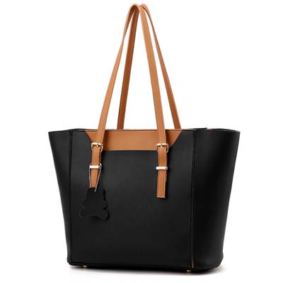 6292 Elegant 2 in 1 Handbag (Black)