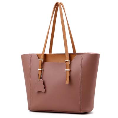 6292 Elegant 2 in 1 Handbag (Dark Pink)